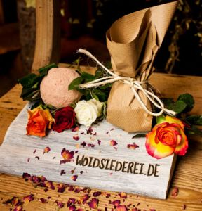 Wellnessurlaub: Badekugerl Rose